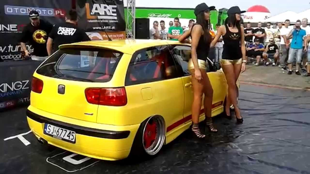 tuning kingz seat ibiza cupra air ride summer cars party. Black Bedroom Furniture Sets. Home Design Ideas
