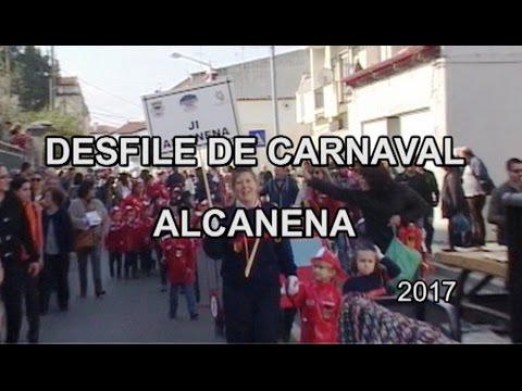 DESFILE DE CARNAVAL EM  ALCANENA -2017