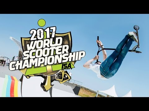 ISA SCOOTER WORLD FINALS 2017 RUNS Kota Schuetz vs Jordan Clark