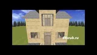 Дом 6.5х8, 3D-проект