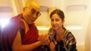 Katrina Kaif wishes Dalai Lama On His 82nd Birthday