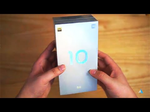 Xiaomi Mi 10 5G Unboxing in English and Price in India