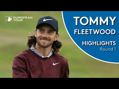 Tommy Fleetwood Highlights | Round 1 | 2018 Sky Sports British Masters