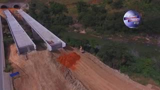 OBRAS DUPLICAÇÃO  BR 381 LOTE 3.1 CIDADE DE ANTÔNIO DIAS _  MINAS GERAIS
