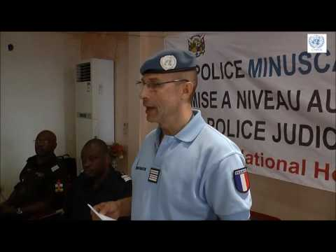 The policing mandate of MINUSCA in the Central African Republic