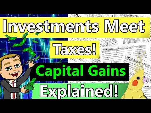 Capital Gains Tax Explained📈 How Stocks Are Taxed!
