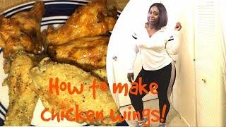 Easy wings   keto style