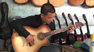 Giã từ - Test guitar 650k - 0906.391557