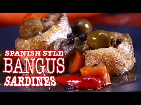 Spanish Style Bangus Sardines Recipe   Milkfish Sardines