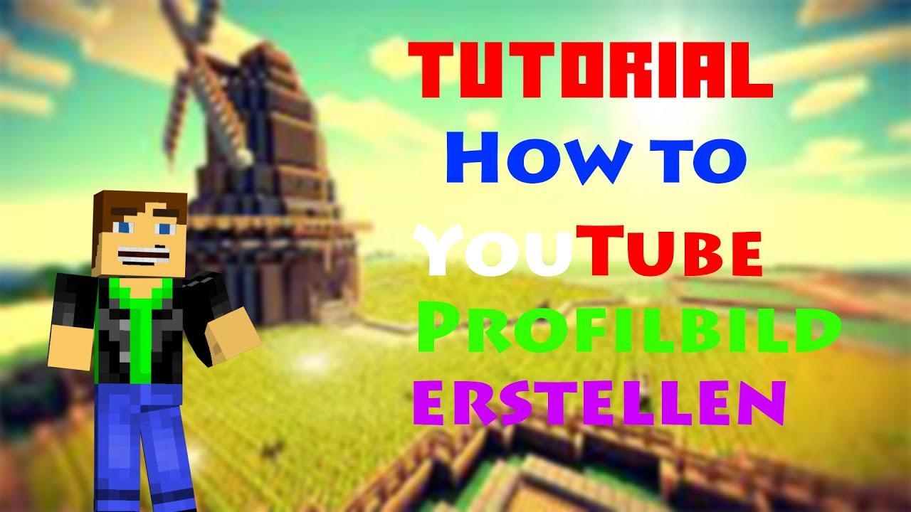 Youtube Profilbild Erstellen