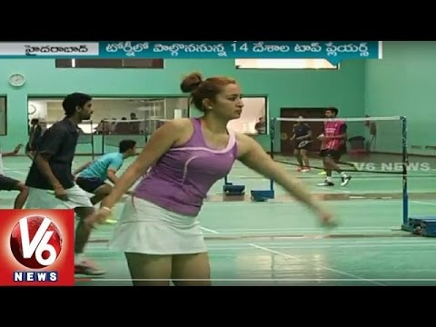 Indian Badminton Team Practice For Asian Badminton Championship | V6 News