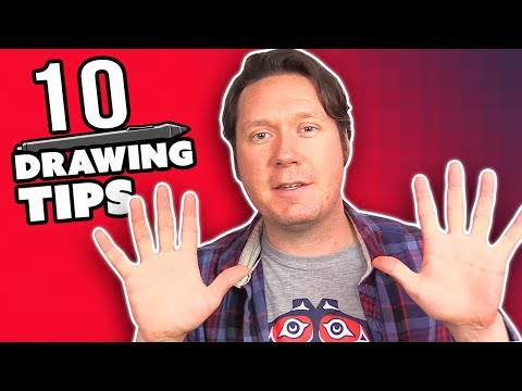 10 DRAWING TIPS for Digital Artists - How to Draw Better in 4 Minutes
