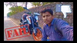 #156 KTM Duke 125 Review by 390 Owner | 2018 Top Speed Mileage Price | 200 Sound India | Don't Buy
