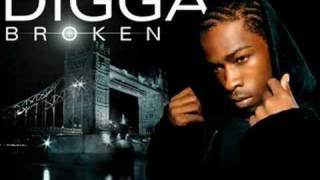 Digga - Broken  ♥with Lyrics♥