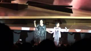 "KD, Lyodra, Nada & Shaquilla performing ""Bolelebo"" in Konser Traya 2015 Mp3"