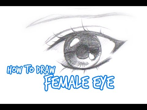 how to draw simple manga eyes