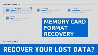 Free Memory Card Recovery Software to Recover Lost Files