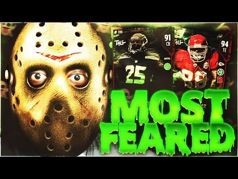 👻 6 SCARY STRONG CAPTAIN PACKS! MOST FEARED PROMO LIVE STREAM! MADDEN 18 ULTIMATE TEAM👻