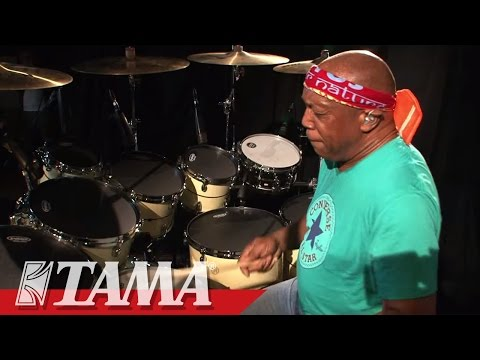 TAMA STAR drums featuring Billy Cobham - Obliquely Speaking from Palindrome