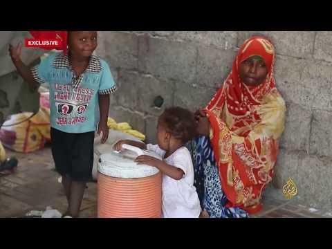 الأمم المتحدة: 35 ألف أسرة هربت من معارك الحديدة  - 22:22-2018 / 7 / 16