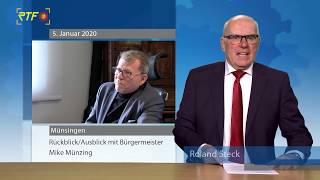 Interview mit Mike Münzing - Münsingens Stadtoberhaupt blickt mit uns auf 2019 und 2020