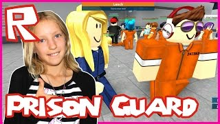 Fun Being Prison Guard in Roblox Prison Life with ronaldOMG