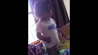 Download Hindi Video Songs - My Little baby one year old dancing on soorma track diljit