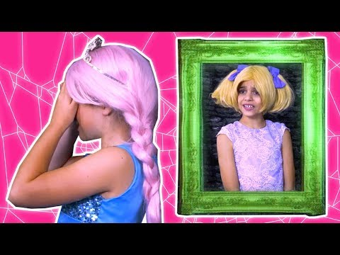 Princess Hide And Seek At The Haunted Hotel 🎃 Halloween Princesses In Real Life | Kiddyzuzaa