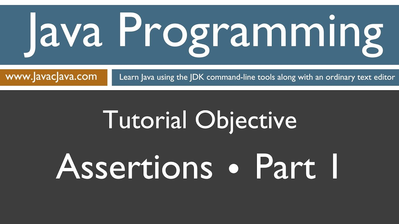 Java util concurrent tutorial pdf image collections any tutorial learn java tutorial pdf images any tutorial examples learn java programming assertions part 1 tutorial assert baditri Images