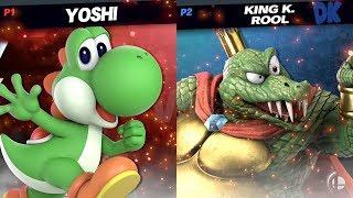 King K. Rool (buzi) vs Yoshi (Risuno) - Smash Ultimate at VCA