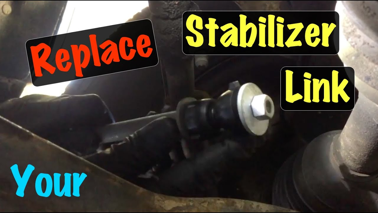 1994 95 96 97 98 99 gm fullsize 2500 truck stabilizer bar link repair chevy and gmc  [ 1280 x 720 Pixel ]