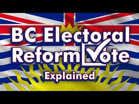 BC's Electoral Reform Referendum: Explained
