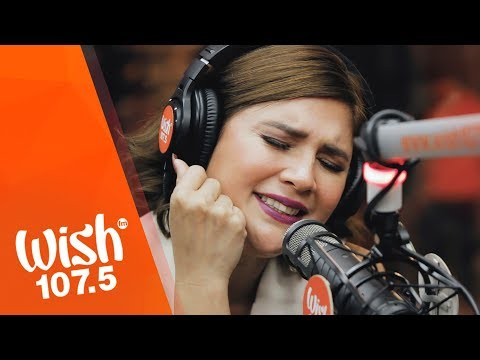 "Vina Morales performs ""Eres Mio"" LIVE on Wish 107.5 Bus"