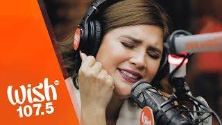 "Vina Morales performs ""Eres Mio"" LIVE on Wish 107.5 Bus"
