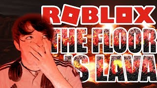 ¡THE FLOOR IS LAVA! | ROBLOX | SUPER CHECKPOINT #1 | CharlyMunguía