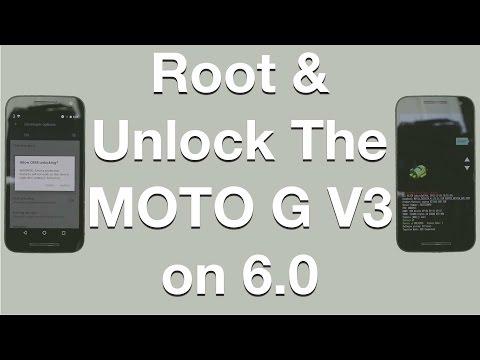 Root & Unlock The Bootloader Motorola Moto G/E On 6.0 Marshmallow/5.0 Lollipop Windows & Mac