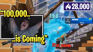 Mongraal Road To 100,000 Points in Solo Arena!