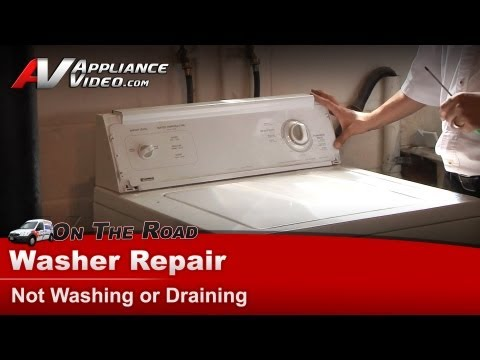 Washer Not Spinning Or Draining Repair Amp Diagnostic Wh