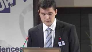 2009 - Introduction des journées de l'UPSTI par M. Riou, président de l'UPSTI