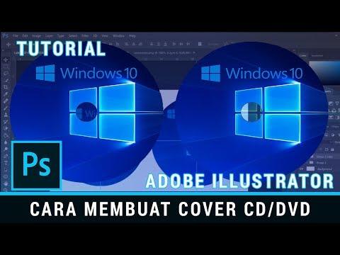 Cara Mudah Membuat Cover Label CD-DVD Menggunakan Adobe Photoshop
