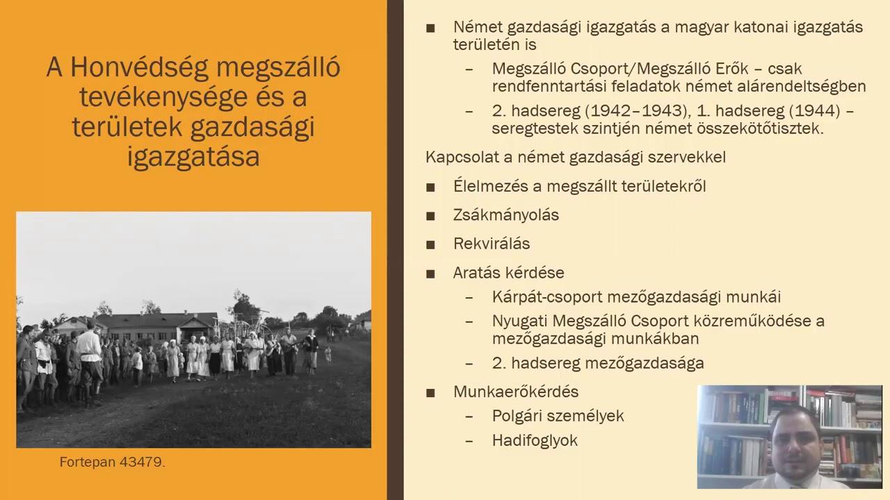 Fóris Ákos és Kosztyó Gyula online előadásai az Új Nemzeti Kiválóság Program zárókonferenciáján