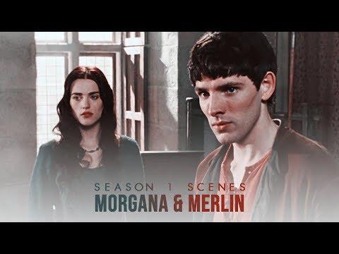 Morgana & Merlin Scenes (Season 1) [Logoless 1080p]