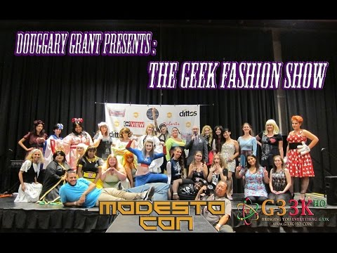 The Geek Fashion Show ModestoCon 2016