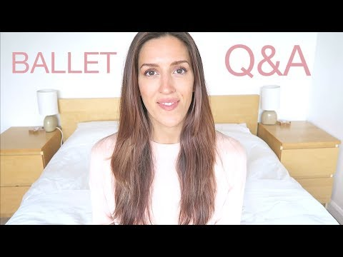 BALLET Q&A - First Pointe Class, Back Flexibility Tips, My First Pointe Shoes | natalie danza