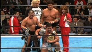 NJPW GREATESTMOMENTS 2004年11月21日後楽園ホール 蝶野正洋&中西学&...
