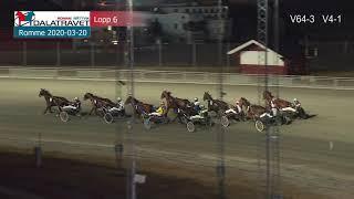Vidéo de la course PMU PRIX SVENSK TRAVSPORTS UNGHASTSERIE