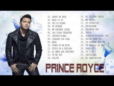 Prince Royce Bachata Sus Mejores Éxitos mix 2016 - Éxitos Romanticas