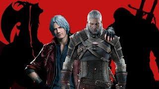 Кто сильнее: Геральт или Данте? Devil May Cry VS Ведьмак | Вергилий? Неро?