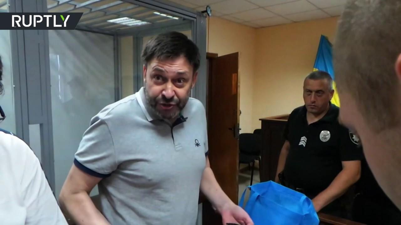 «Моё дело политическое»: Кирилл Вышинский после заседания суда в Киеве