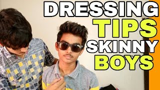 How To Wear Shirt And Tshirt Skinny Boys | Hindi | Skinny Boys Dressing style To Look Attractive